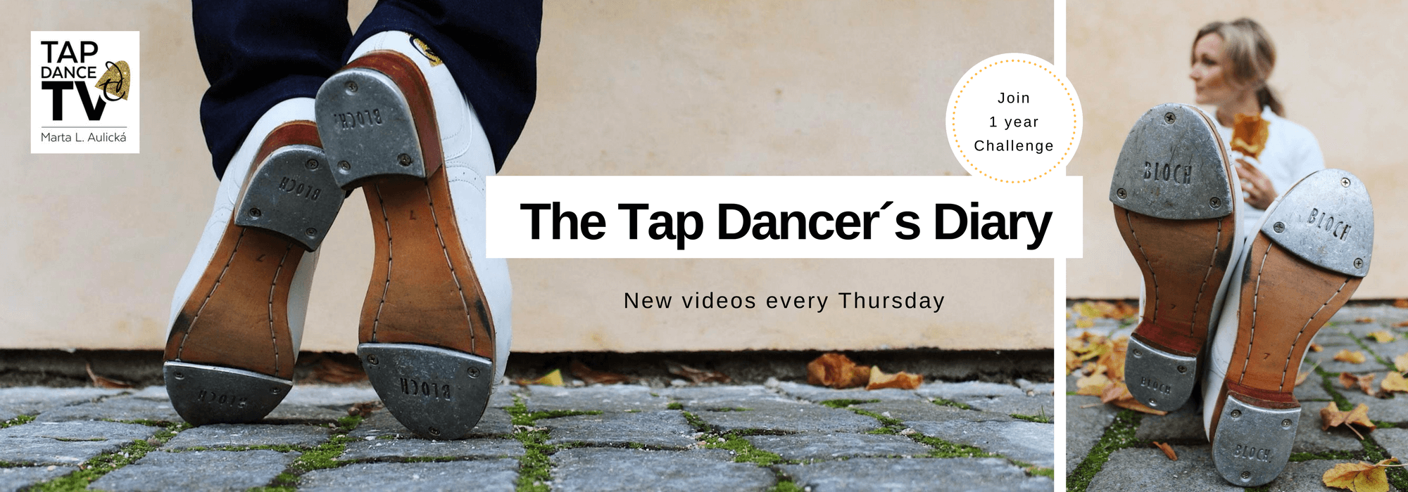 Tapdance.tv header